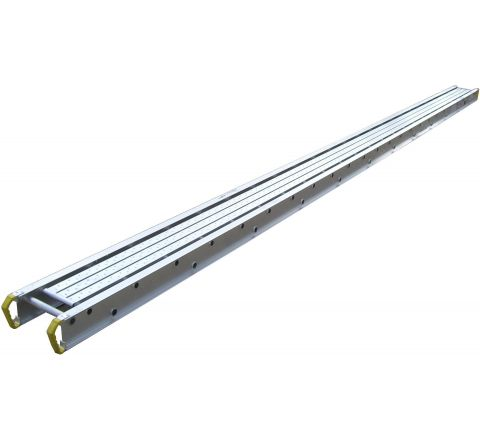 "14"" Wide X 8' Long Aluminum Stage - 500lb Rated"