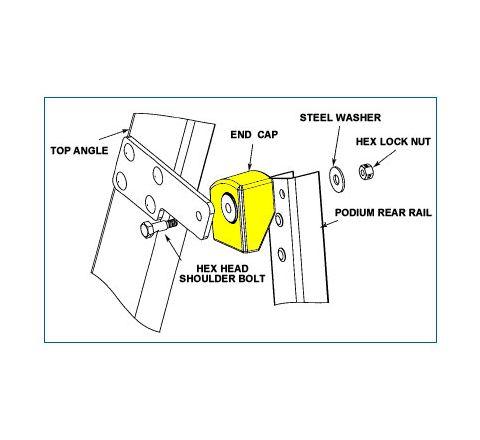 Rear End Caps & Pivot Hardware Kit