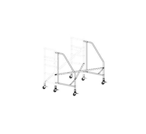 Narrow Span Rolling Outriggers Kit (One Side)