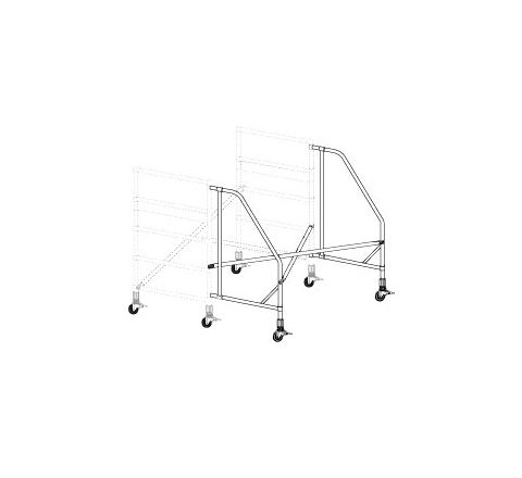Wide Span Rolling Outriggers Kit (One Side)