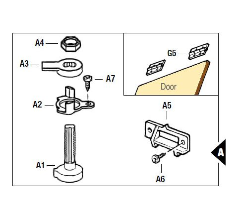 Twist Catch Assembly Replacement Kit