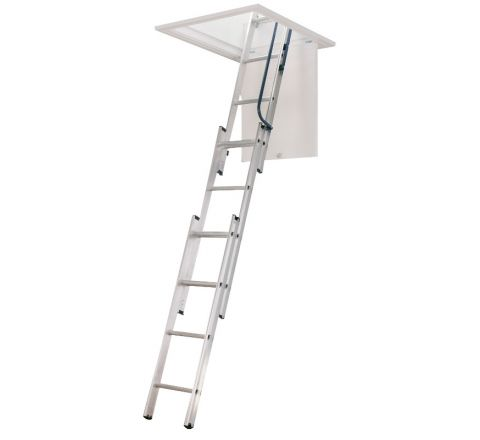 Telescoping Compact Attic Ladder