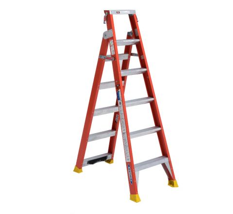 Fiberglass Dual Purpose Ladder