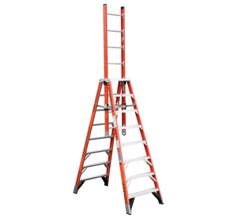 Fiberglass Extension Trestle Ladder