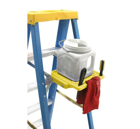 Universal Self-Closing Pail Shelf