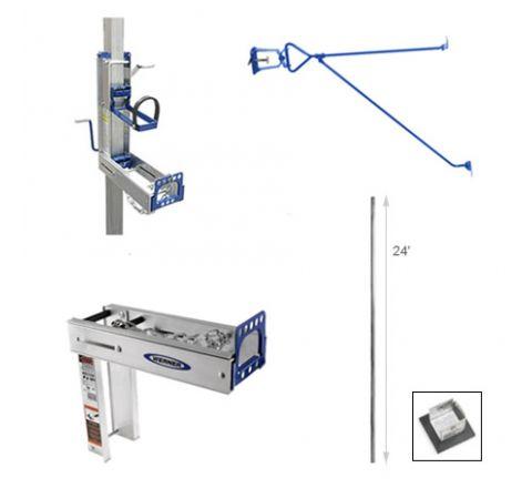 24' Complete Pump Jack Pole System