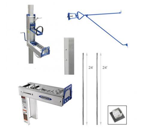 48' Complete Pump Jack Pole System