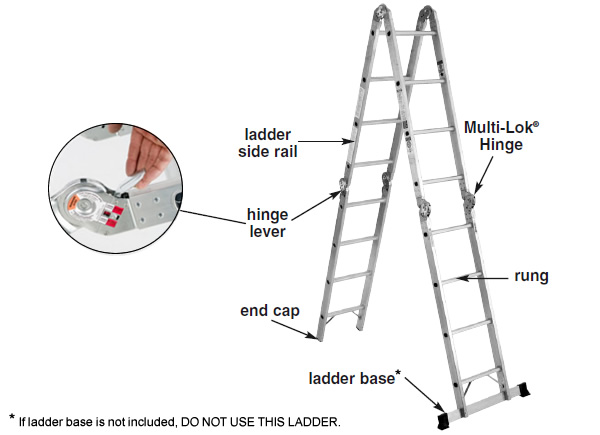 diagrams of fire ladders